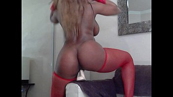 Storm lingerie - Busty booty ebony nyla storm fucking her toys for her webcam lovers