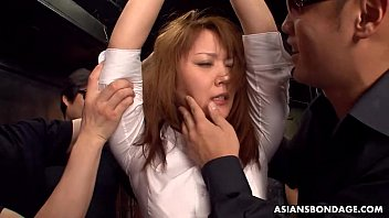 Overwhelming toy fucking bdsm session even if she squirted already