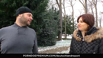 DEUTSCHLAND REPORT - Amateur German girl gets picked up for a good hard fuck