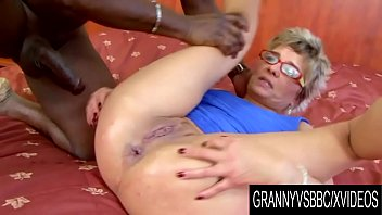 Grannies with big dicks Granny vs bbc - gilf jessey has her ass mercilessly railed by her black bf