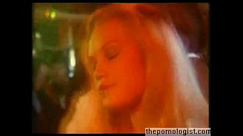 Girl jacks off dude in disco and gets fucked in retro porn movie 8 min
