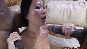 Streaming Video Asian takes 2 monster black cocks - XNXX.city