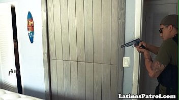 Latina immigrant roughfucked by border agent