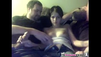 Amateur Homemade Threesome - two old guys wit Thumb
