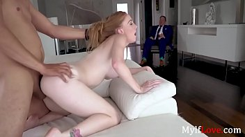 Redhead Whore MILF Fucks Lover In Front Of Husband- Ginger Babbi