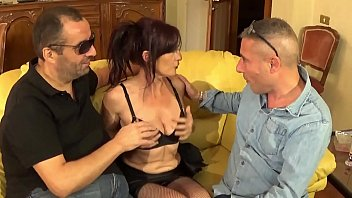 Sexy italian mature Maid Fucked By Her Bosses