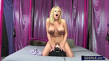 Codi's unbelievable sybian orgasms
