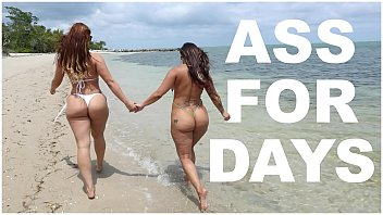 Bikini day in Bangbros - latina lesbians spicy j miss raquels asstastic day at the beach