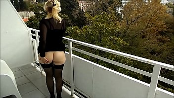 RoseRedRus -Flashing on the Balcony