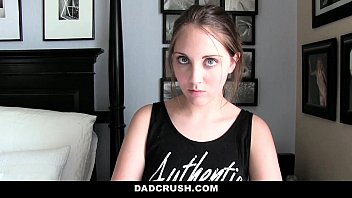 Dad Crush- Caught and Punished Step-Daughter For Sneaking