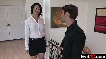 Beautiful stepmom gets seduced by her stepson 6 min