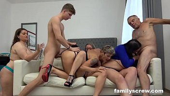 Fucked up Grandpa and Grandson Sunday Orgy
