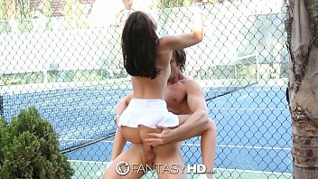 Tennis porno Hd fantasyhd - little dillion harper gets fucked on the tennis court