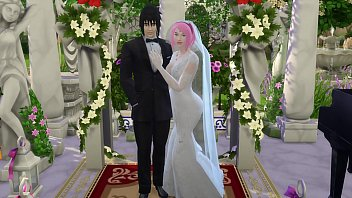 Sakura's Wedding Part 1 Naruto Hentai Netorare Wife Cheated Wedding Tricked Husband Cuckold Anime