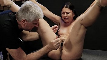 Sole whipping and electric shocking