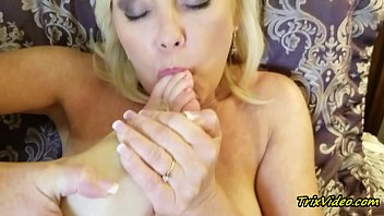 Milf Masturbation and Toe Sucking Orgasms with Ms Paris Rose