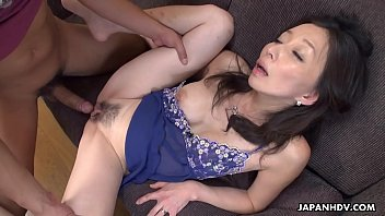 Mature slut gobbling on a pecker like a sex fiend