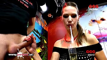 Hardcore and fetish video Champagne cum and cake for queen of goo viktoria