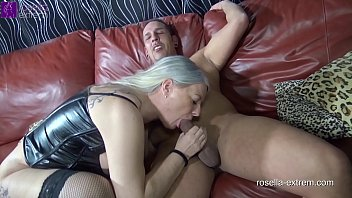 Three-hole mare Rosella gets all holes fucked! Hard ass fuck with extreme anal creampie and squirt!