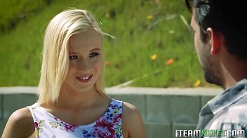 Ravaging Bailey Brookes tight blonde teen body