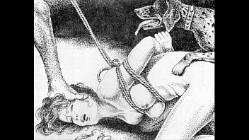Asian art genre Slaves to rope japanese art bizarre bondage extreme bdsm painful cruel punishment asian fetish