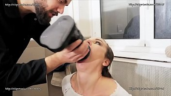 Nataly Gold - Extreme Slut Deepthroat With Huge Dildo