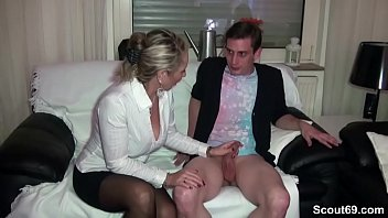 German m. teach Young Couple to Fuck Good