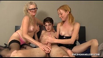 Mature Woman and Cute Teen Double Cock Treatment preview image
