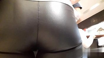 LEATHER LEGGINGS BLACK