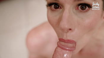 Dare My Step Mom to Deep Throat My Cock and Swallow All My Cum - Cory Chase 15 min