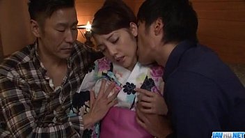Rei Mizuna aSian wife drilled in really hot manners
