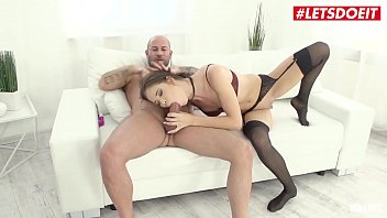 LETSDOEIT - Russian Teen Lovenia Lux Has Rough Anal Sex