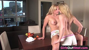 Girls Out West - Blonde Australian lesbians loving 69 14 min