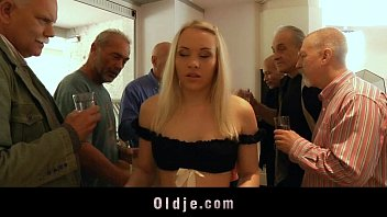 Slogan for teen issue Seven old men gangbang fucking blonde secretary dp and crazy facials
