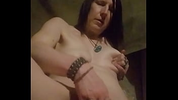 INSATIBLE PUNK FUCKS PUSSY & ASS WITH VIBRATOR AND DILDO