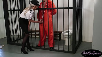 British copper sucks off inmates cock