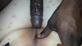 Pawg takes long bbc and get a creampie