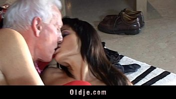 Teen girl humiliating oldman tube videos Grey oldman receives a real doll to fuck for christmas