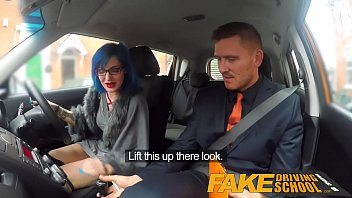 Fake Driving School Anal Sex And A Facial Finish Ensures Driving Test Pass
