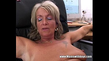 Mom boss laid fuck video Blonde mature office boss anal fucked by applicant