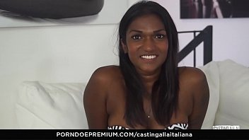 Streaming Video CASTING ALLA ITALIANA - Interracial MMF threesome with gorgeous Indian babe Maya Secret - XLXX.video