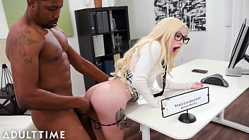 ADULT TIME - Flexible Blonde Kenzie Reeves Gets FUCKED HARD By Her Big Cock Boss