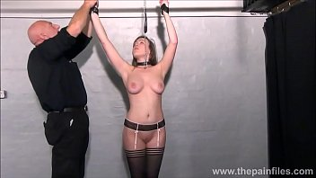 Hearts in bondage - Blonde slave taylor hearts tit torments and kinky bondage of punished submissive