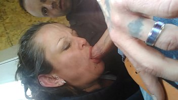 We sneak into the outdoor sheds in the home Depot parking lot and she gives me a blowjob during business hours