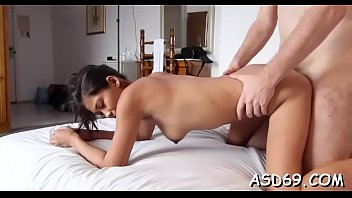 A horny dude gives this hawt asian hottie the hottest fucking