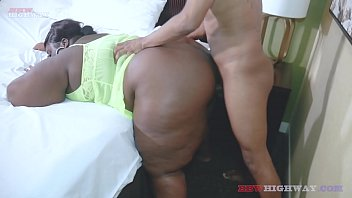 big booty chocolate bbw Chrissy Santana is back on BBWhighway