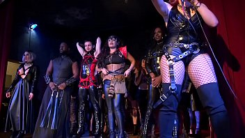 Diabolique Ball-Highlights-Fetish fashion show-Freaky AFTERparty now on RED