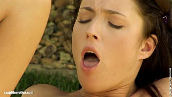 Zoe and Stracy hot lesbian humping outdoors by Sapphic Erotica