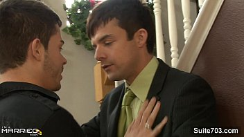 Naughty married male gives head to a gay