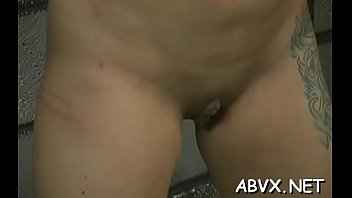 Adorable beauty is drilling her soaking wet cherry